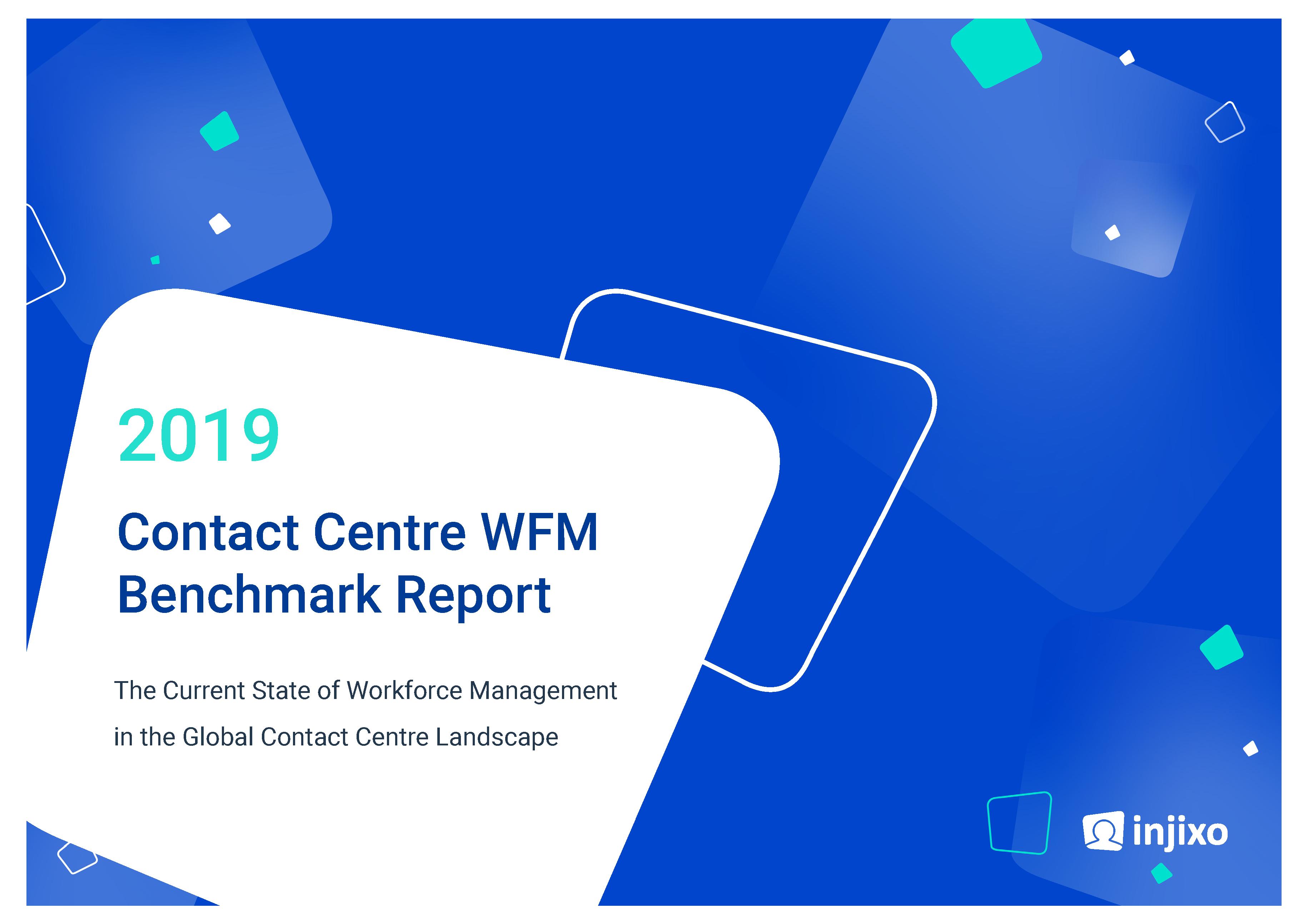 Titlepage - injixo 2019 Contact Centre WFM Benchmark Report