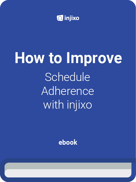 injixo how to improve schedule adherence